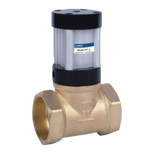 Válvula de tubería de control neumático de serie QKGF