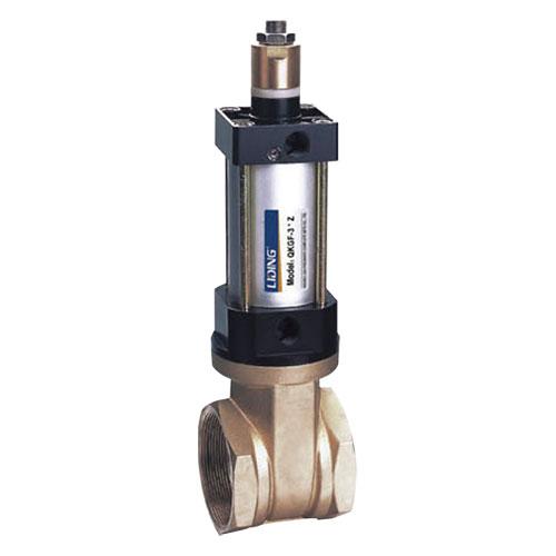 Válvula de tubería de control neumático de la serie QKGF-Z